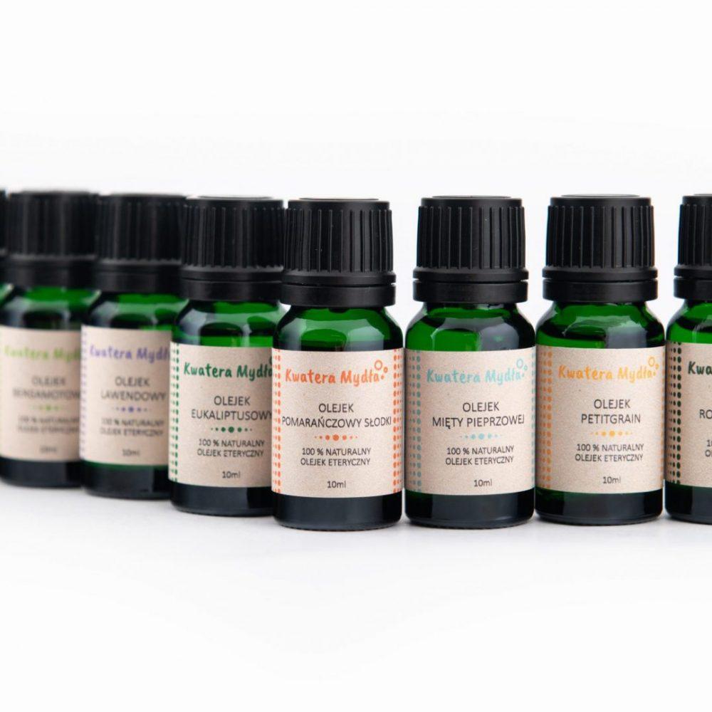 oleje aromaterapeutyczne naturalne