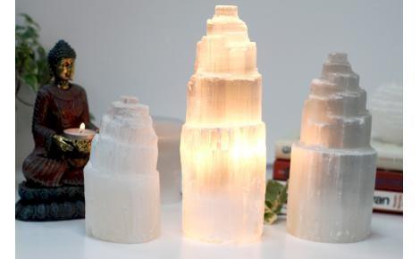 lampa selenitowa kamień księzycowy